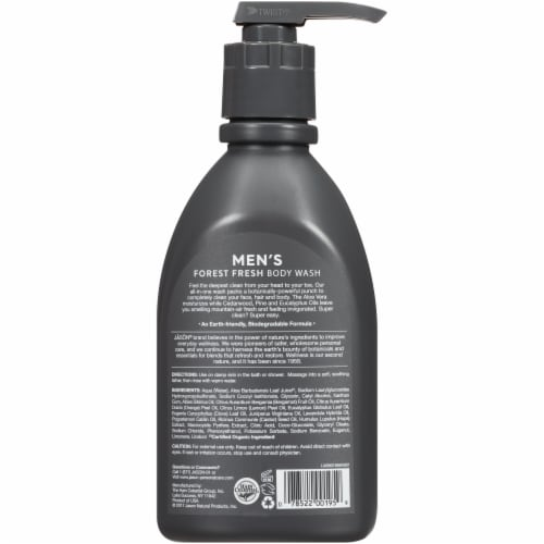 Jason Men's Forest Fresh All-In-One Body Wash Perspective: back