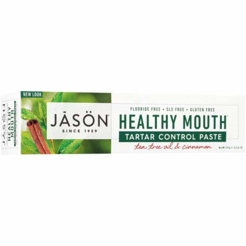 Jason® Healthy Mouth Toothpaste Perspective: back