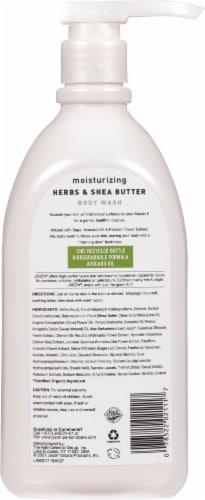 Jason Herbal Moisturizing Herbs & Shea Butter Body Wash Perspective: back