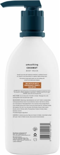 Jason Smoothing Coconut Body Wash Perspective: back