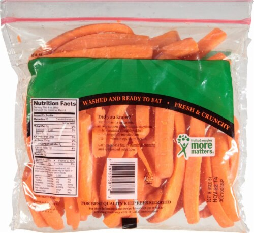Grimmway  Carrot Stixx Perspective: back