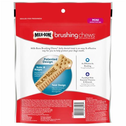 Milk-Bone Brushing Chews Mini Bones Value Pack Perspective: back