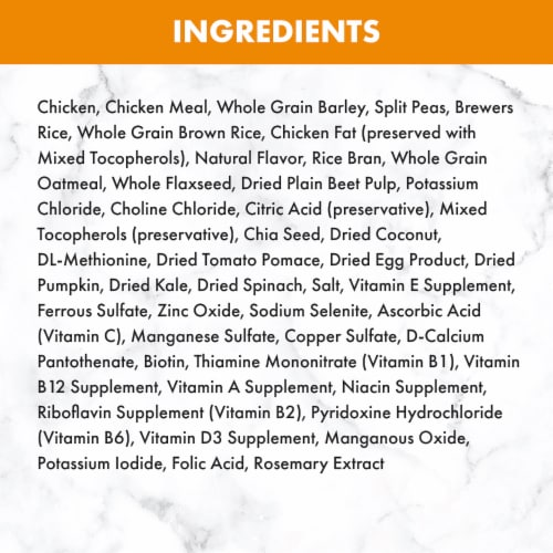 Nutro Natural Choice Chicken & Brown Rice Recipe Small Breed Adult Dry Dog Food Perspective: back