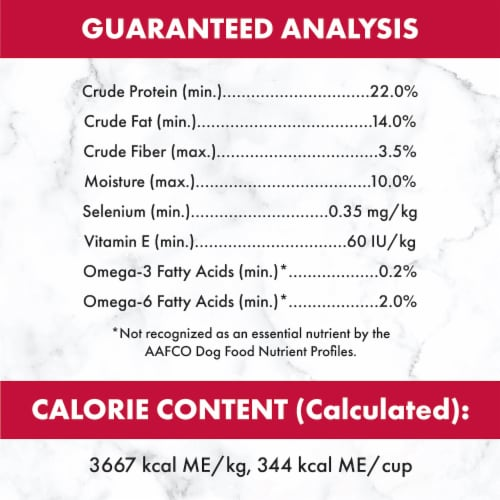 Nutro Wholesome Essentials Beef & Brown Rice Recipe Adult Dry Dog Food Perspective: back