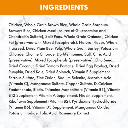 Nutro Wholesome Essentials Large Breed Chicken Brown Rice & Sweet Potato Recipe Adult Dry Dog Food Perspective: back