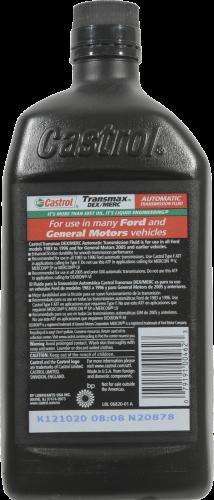Castrol Transmax Dex/Merc Automatic Transmission Fluid Perspective: back