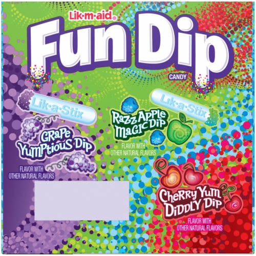 Fun Dip Candy 24 Count Perspective: back