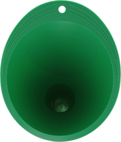 Midwest Can Company Mini Super Funnel - Green Perspective: back