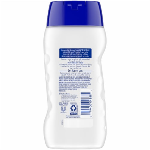 Suave Kids Free & Gentle Body Wash Perspective: back