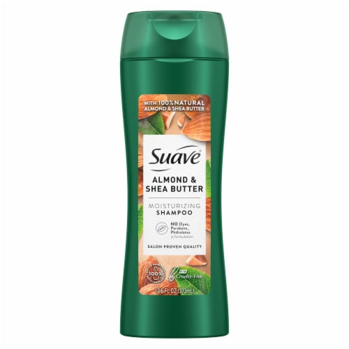 Suave Professionals Almond & Shea Butter Moisturizing Shampoo Perspective: back
