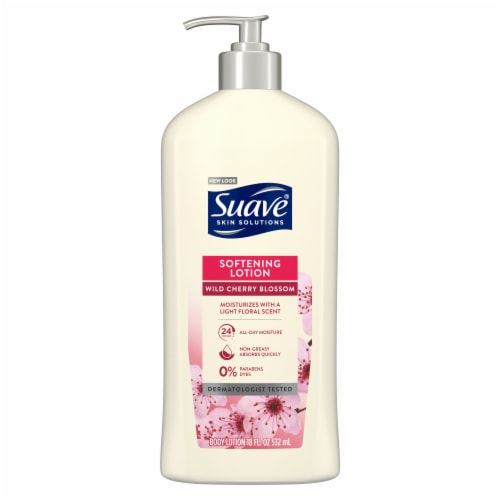 Suave Skin Solutions Wild Cherry Blossom Body Lotion Perspective: back