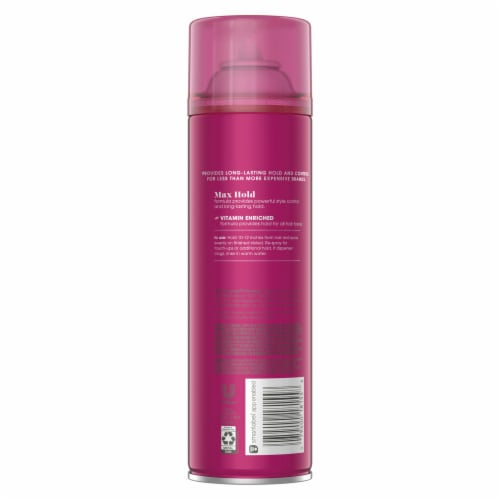 Suave® Max Hold Aerosol Hairspray Perspective: back