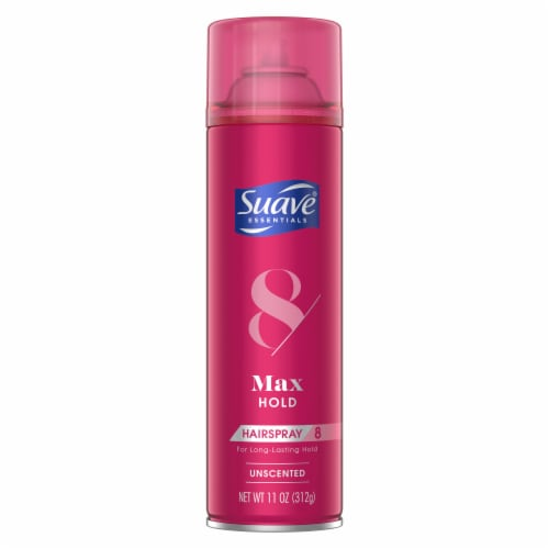 Suave® Max Hold Unscented Hair Spray Perspective: back