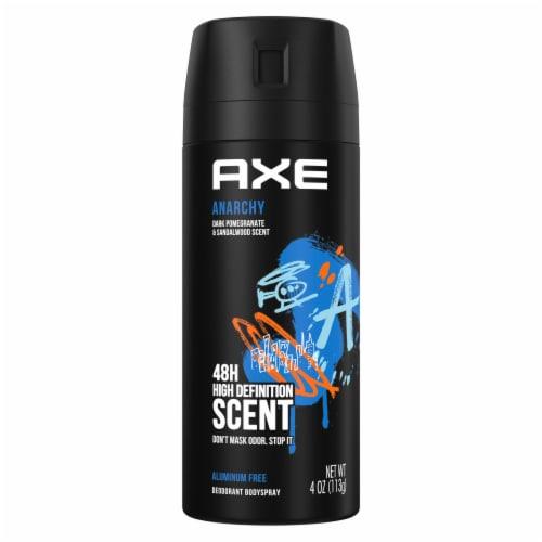 Axe Anarchy Deodorant Body Spray Perspective: back