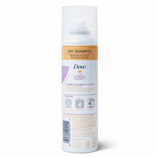 Dove Refresh + Care Volume & Fullness Dry Shampoo Perspective: back