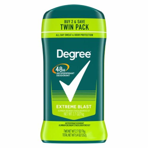 Degree Men Extreme Blast Antiperspirant & Deodorant Stick 2 Count Perspective: back