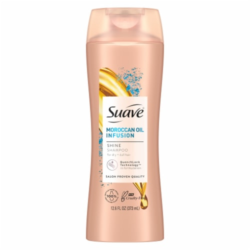 Suave Professionals Moroccan Infusion Shine Shampoo Perspective: back