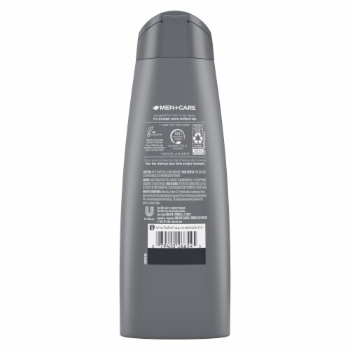 Dove Men+Care Fresh and Clean Fortifying Shampoo & Conditioner Perspective: back