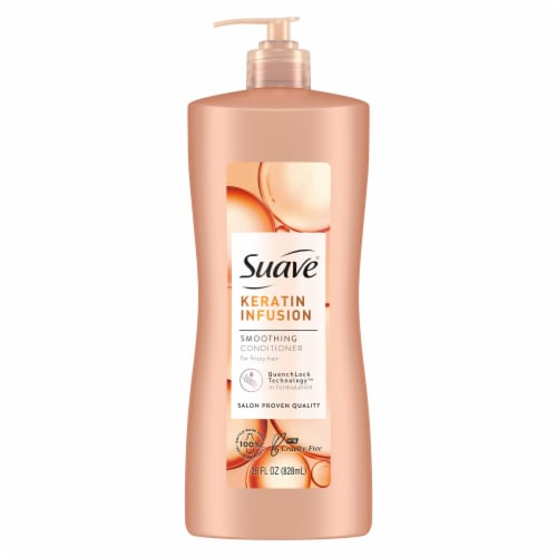 Suave Professionals Keratin Infusion Smoothing Conditioner Perspective: back