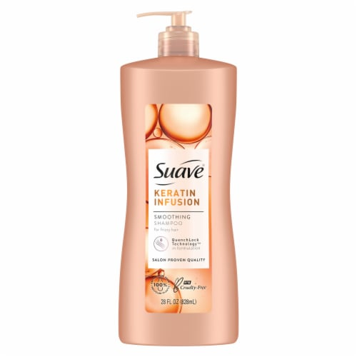 Suave Professionals Keratin Infusion Smoothing Shampoo Perspective: back