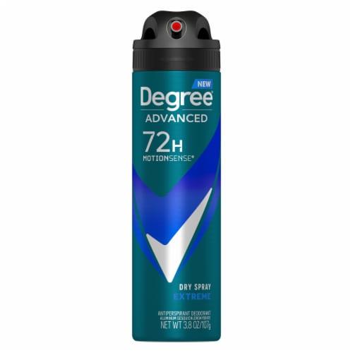 Degree Men MotionSense Extreme Antiperspirant Deodorant Dry Spray Perspective: back