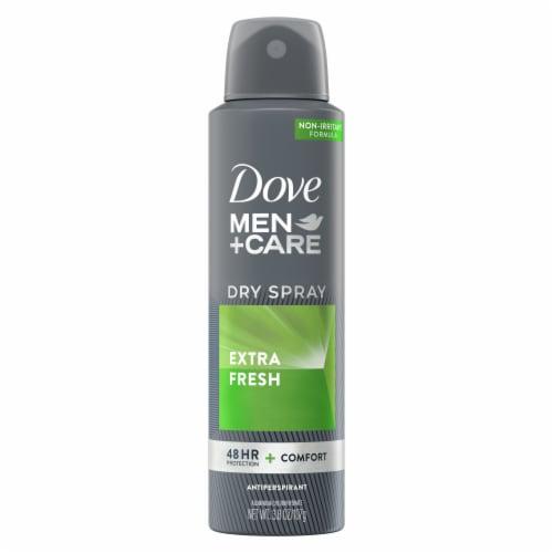 Dove Men+Care Extra Fresh Antiperspirant Dry Spray Perspective: back