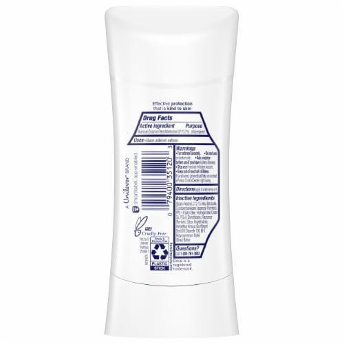 Dove Advanced Care Shea Butter Antiperspirant Deodorant Stick Perspective: back