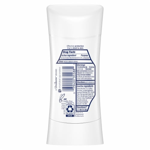 Dove Advanced Care Sensitive Anti-Perspirant Deodorant Perspective: back