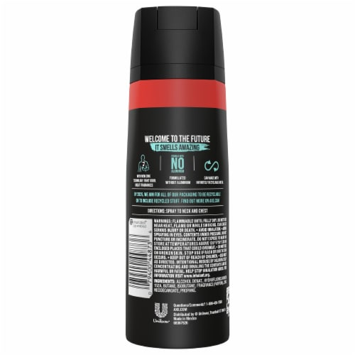 Axe Apollo Body Spray Perspective: back