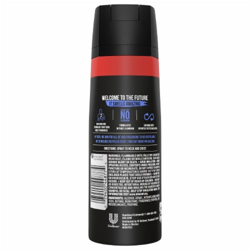 Axe Phoenix Deodorant Body Spray Perspective: back