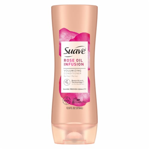 Suave Professionals Rose Oil Infusion Volumizing Conditioner Perspective: back