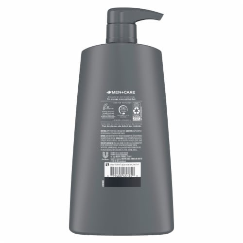 Dove Men+Care Fresh & Clean 2 in 1 Shampoo + Conditioner Perspective: back