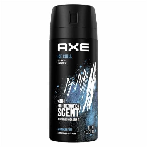 Axe Ice Chill Deodorant Body Spray Perspective: back