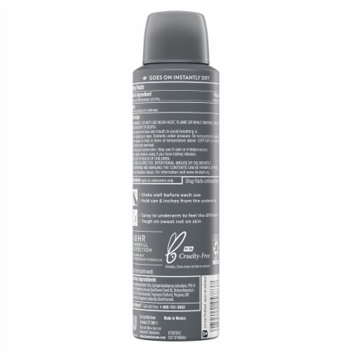 Dove Men + Care Active Fresh Antiperspirant Dry Spray Perspective: back