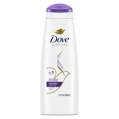 Dove Volume & Fullness Shampoo Perspective: back