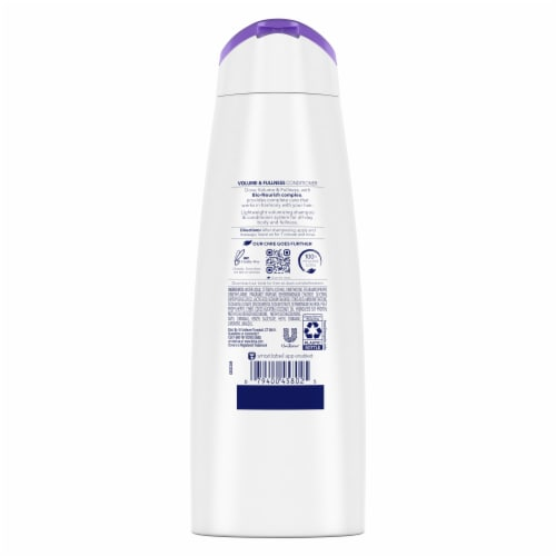 Dove Nutritive Solutions Volume & Fullness Conditioner Perspective: back