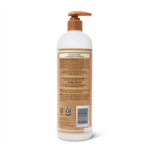 Suave® Professionals Sulfate-Free Shea Butter & Coconut Oil Shampoo for Curly Hair Perspective: back
