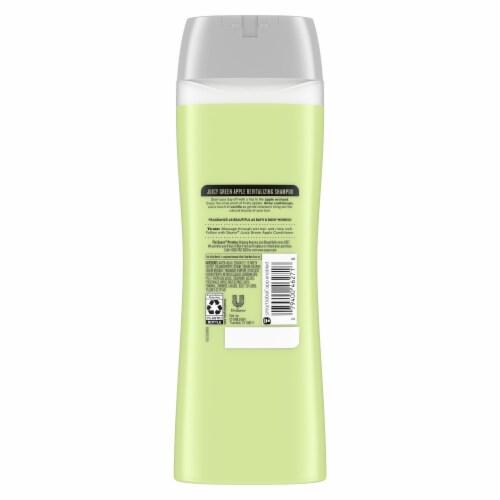 Suave® Essentials Juicy Green Apple Revitalizing Shampoo Perspective: back