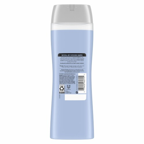 Suave® Essentials Waterfall Mist Refreshing Shampoo Perspective: back