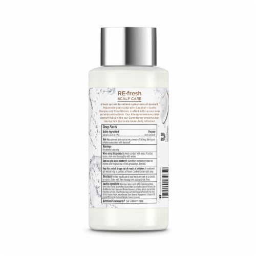 RE-fresh Scalp Care Coconut + Soothe Anti-Dandruff Shampoo Perspective: back