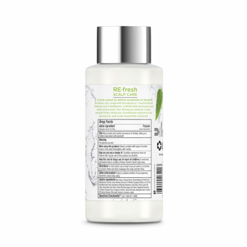 RE-fresh Scalp Care Eucalyptus + Cooling Relief Anti-Dandruff Conditioner Perspective: back