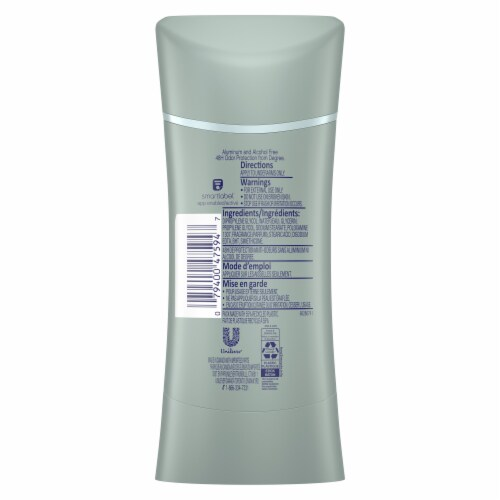 Degree Odor Protect Revitalizing Botanicals Aluminum Free Deodorant Stick Perspective: back