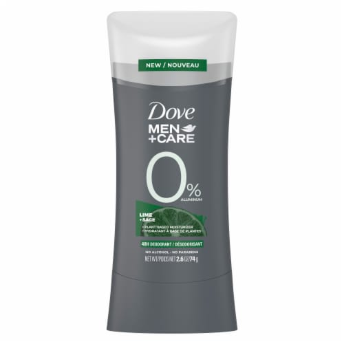 Dove Men+Care Aluminum-Free 48-Hour Protection Lime & Sage Deodorant Stick Perspective: back