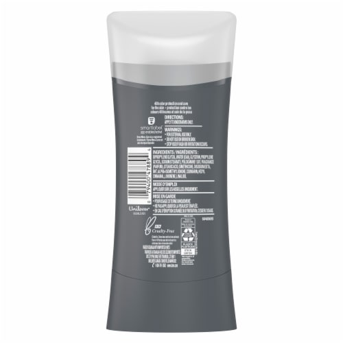 Dove Men+Care Aluminum-Free 48-Hour Protection Sandalwood & Orange Deodorant Stick Perspective: back
