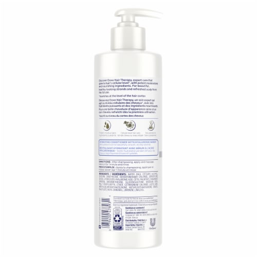 Dove Hair Therapy Hydration Spa Conditioner for Dry Hair Perspective: back