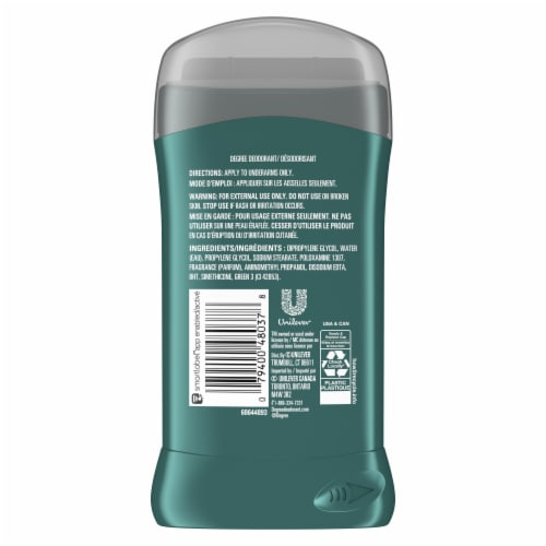 Degree Men's Anti-Perspirant - Wild Woods Perspective: back