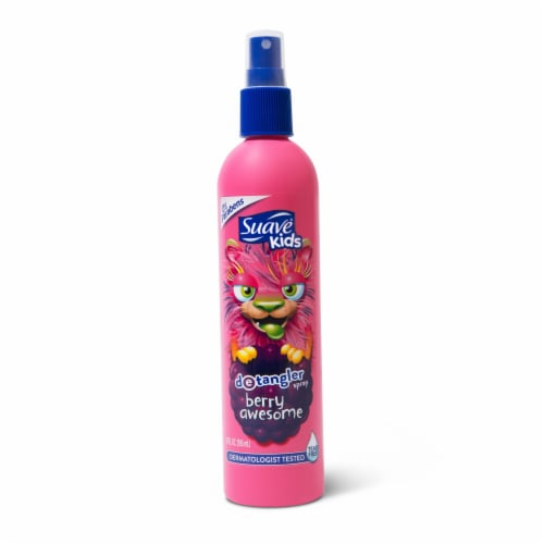 Suave® Kids Berry Awesome Detangler Spray Perspective: back
