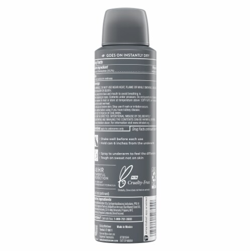 Dove Men+Care 48-Hour Sweat & Odor Protection Cool Fresh Antiperspirant Deodorant Dry Spray Perspective: back