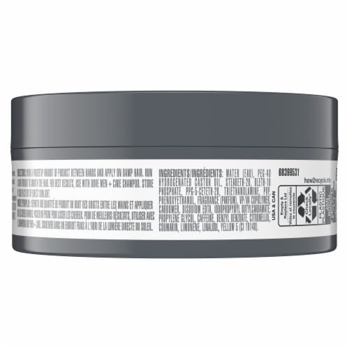 Dove Men+Care Defining Pomade Perspective: back