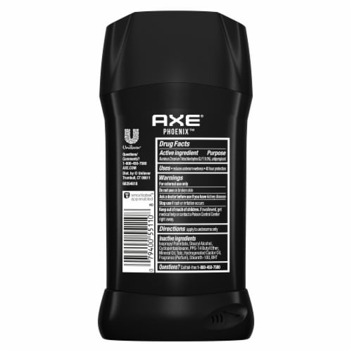 Axe Phoenix All-Day Dry Antiperspirant & Deodorant Stick Perspective: back
